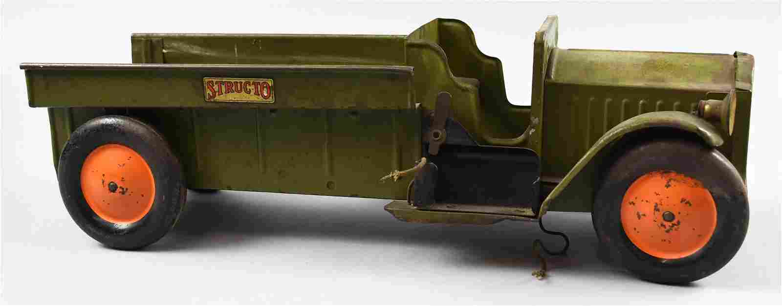 c1928 Structo Steel Army Truck
