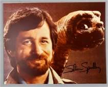 ET The Extra Terrestrial Steven Spielberg  Signed