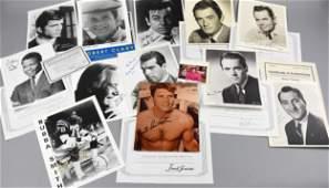 Actor Headshots Signed, Lancaster, Peck, More, COA