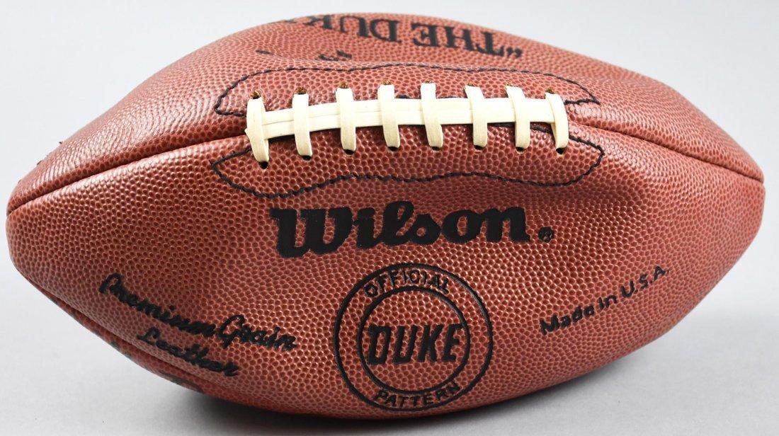 Green Bay Packer Multi Player Signed Ball Starr Hornung