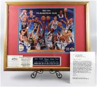"1992 USA Basketball ""Dream Team"" signed Jordan Barclay"