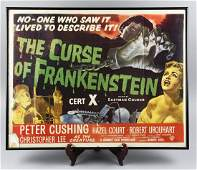 The Curse Of Frankenstein 1950 Poster