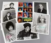 Dynasty Signed Photos Joan Collins Diahann Carroll