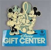 Vintage Disney Gift Center 1981 Advertising