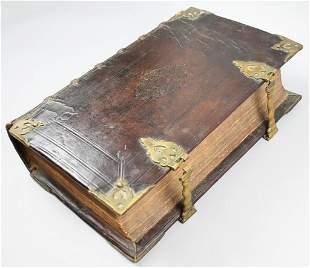 1714 Bibilia Netherlands, Old & New Testament In Dutch