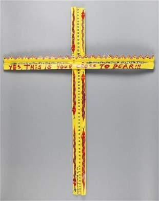 W.D. Harden 1998 Tin Snake Cross