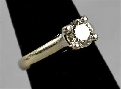1.5ct SI G 14K White Gold Diamond Ring $16,000
