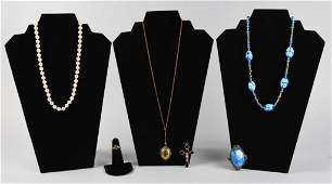 Vintage  Antique Costume Jewelry Victorian
