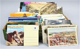 Large Vintage Postcard Lot, Vegas, California, Plus