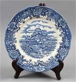 Old Salem China, English Village Plate Ironstone