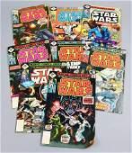(8) 1970s Star Wars Comic Books