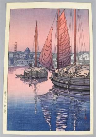 Tsuchiya Koitsu (1870-1949) Japanese Woodblock Print