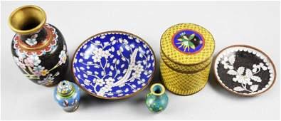 Vintage/Antique Mixed Lot Cloisonné Pieces