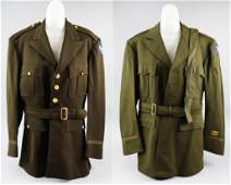 Pair WWII Army Air Force AAF Jackets ID