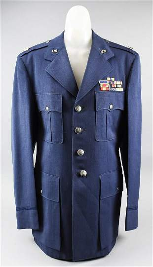 WWII Army Air Force Lieutenant Colonel Jacket