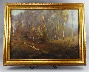 Antique R. Sandberg Oil Painting