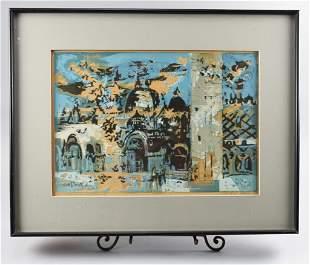 Robert  Wood (1926-1999) California Artist Print