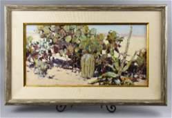 Burt Procter (1901-1980) Oil on Canvas
