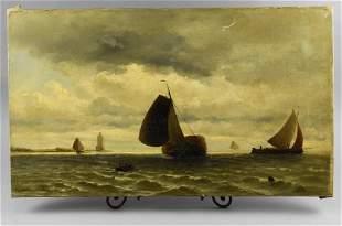 Jacob Heemskerk Van Beest (1828-1894) Dutch Artist