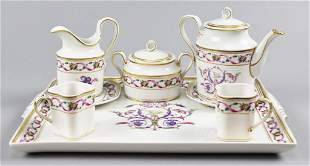 Richard Ginori Tea Set Handpainted