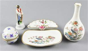 Misc. Decorative Porcelain, Herend, Wedgwood
