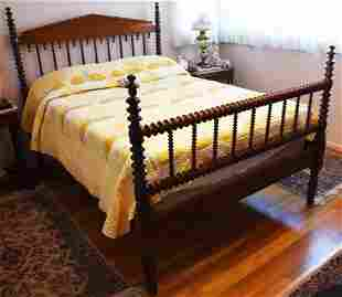 19th C Jenny Lind Full Size Bed