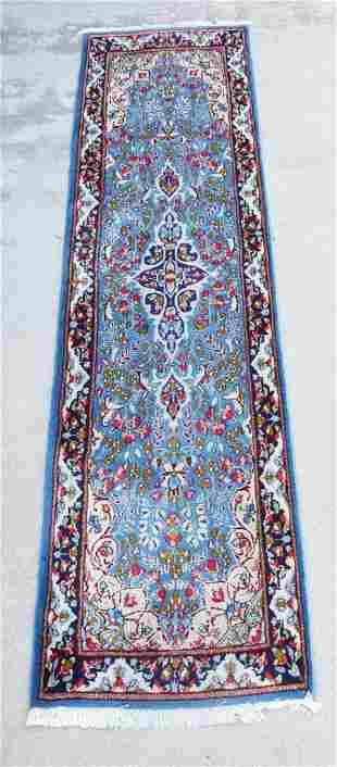 Vintage Persian Wool Woven Runner