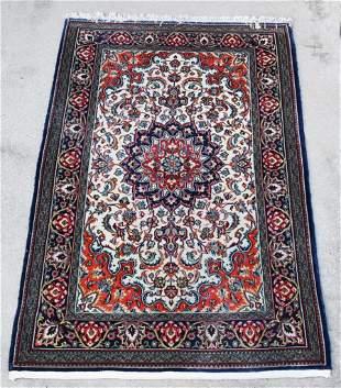Vintage Woven Wool Perisan Area Rug