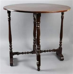 Antique Gate Leg Parlor Table