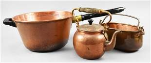 Antique/Vintage Copper Utilitarian Kitchen Items