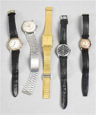 Misc Lady's Watch Lot, Timex, Bulova, Benrus, Seiko