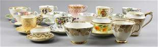 Large Lot Misc Collectible Cup & Saucer Sets