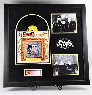 Autographed Batman Album, Bob Cane Signed, COA