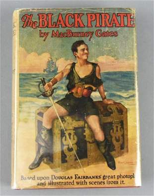 1st Ed. 1926 Douglas Fairbanks Black Pirate Photoplay