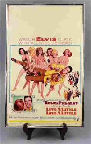 Elvis Presley Movie, Live A Little, Love a Little Movie