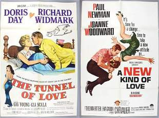Tunnel of Love Doris Day/New Kind Of Love Movie Posters