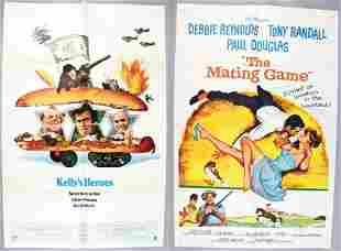 Mating Game & Kelly's Hero's One Sheet Movie