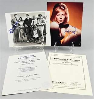 Bonnie & Clyde Cast Signed Photo, COA Dunaway,