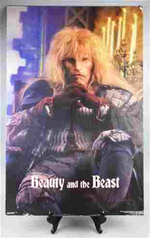 1980s Television Poster, Beauty & The Beast
