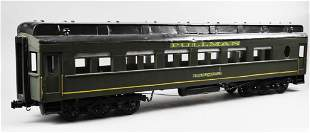 Antique Large Scale Wood & Tin Pullman Car