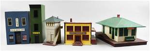 (5) O Scale Lionel/K-Line Buildings and More