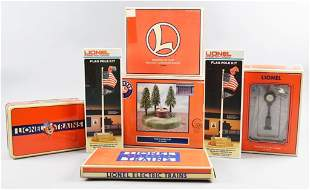 Lot of Misc Lionel Layout Accessories, Original Boxes