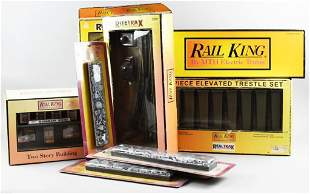 Misc Rail King, MTH Railroad Accessories and Diesel B