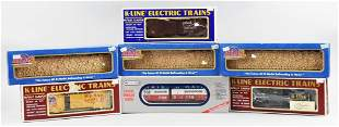 (7) Williams, Atlas, K-Line O/O27 Gauge Train Cars
