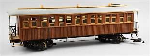 Vintage Wooden Pullman Rail Car