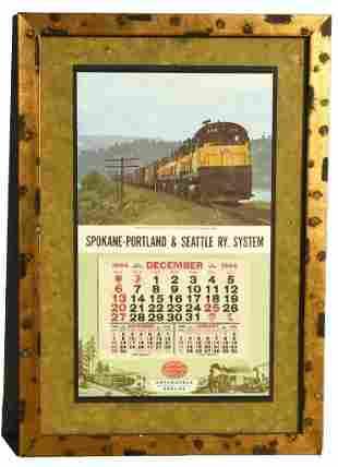 1964 Spokane-Portland & Seattle Railway System Calendar