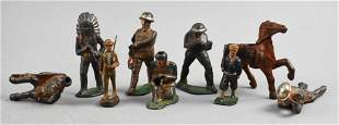 Antique Barclay Manoil and More Lead Figurines