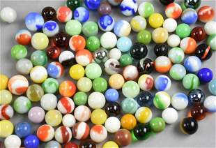 17# Large Assortment Marbles