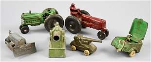 Misc Vintage Toy Lot, Auburn, Tootsie, Arcade