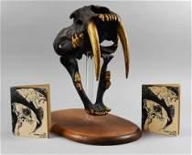 Skullduggery Replica Saber-Tooth Cat Skull